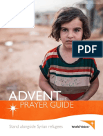 world vision advent prayer guide