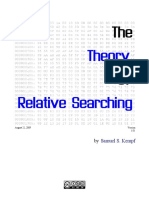 The Theory of Relative Searching v1.01
