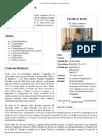 Concilio de Trento - Wikipedia, La Enciclopedia Libre