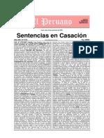 Sentencias en casación - Edición 614 - 30 de Noviembre Del 2009 - 192 Pags.