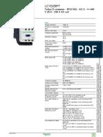 Contactor LC1D25D7