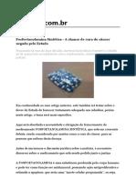 Fosfoetanolamina Sintética - A chance de cura do câncer negada pelo Estado.pdf