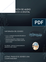 Conversión de Audio Analógico a Digital