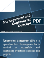 Week#01 Management and Engg Concepts