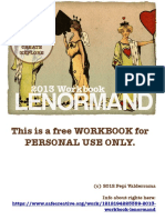 Lenormand Work Book 2013
