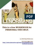 Lenormand Work Book 2013
