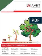 Ambit Capital - Strategy -Errclub the Coffee Can Portfolio 2016 (Thematic)