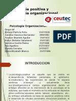 Psicología Positiva y Psicología Organizacional Positiva