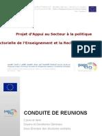 Présentation Conduite de Réunions VFL