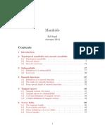 Manifolds 2014 Parallelization