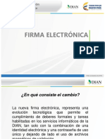 Presentacion Firma Electronica - Dian