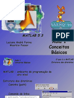 Conceitos Básicos de MATLAB - Aula 1