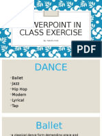 powerpoint in class exercise