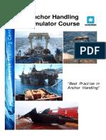 Maersk Training Anchor Handling Simulator Course