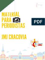 Material JMJ Cracovia Para Periodistas Ok