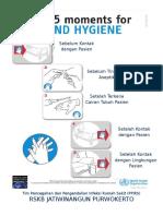 5 Moments Handhygiene
