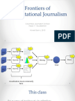 Computational Journalism 2016 Week 8