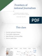 Computational Journalism 2016 Week 10