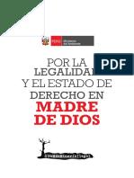 Dossier_Por La Legalidad y El Estado de Derecho en Madre de Dios