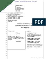 Zynga Case vs. 2 Former Employees and Scopely