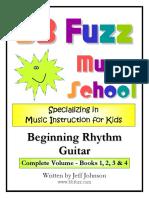 Beginning Rhythm Guitar Complete Set Books 1234