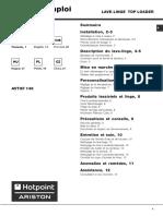 manual Ariston avtxf 149.pdf