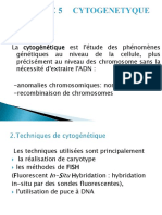 Medecine Cytogenetique