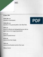 Marcos 1981 Inaugural Program