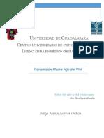 Aceves Ochoa Jorge Alexis. Monografía
