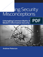 Cracking Security Misconceptions