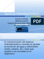 Balance hidroelectroltico