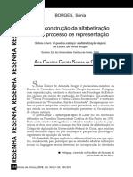 Borges Alfabetização e Psicanalise