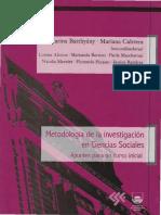 Tecnicas de Investigacion de Libro Catedra Meto I FCS