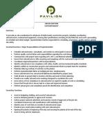 PC Job Description Superintendent