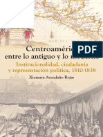 Avendaño Xiomara Centroamérica Entre Lo Antiguo y Lo Moderno