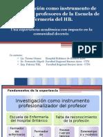 Investigacion y Formacion Profesores