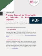 Guía Práctica Proceso Exportación de Bienes