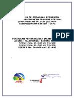 Prosedur Pelaksanaan PVD