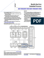 Blackfin Dual Core Embedded Processor