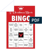 FDRLST Christmas Bingo #1