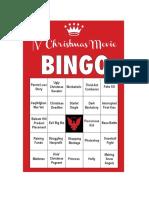 FDRLST Christmas Bingo #5
