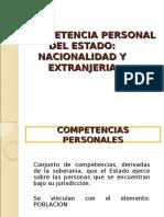 1 La Competencia Personal Del Estado