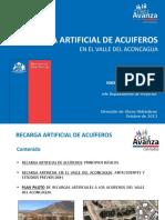 Recarga Acuiferos DOH Aconcagua 2013