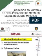 Armando Valenzuela Congreso Mineria Sustentable UNAB 2013