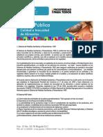 Sistema de Medidas Sanitarias y Fitosanitarias - Msf