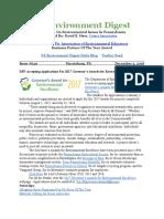 Pa Environment Digest Dec. 5, 2016