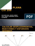 Cercha Plana