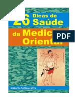 26 DICAS DE SAUDE DA MEDICINA ORIENTAL_Gilberto Antônio Silva.pdf