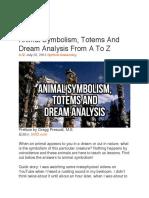 Animal Symbolism.TOTEMS.Dream Analysis..A to Z.pdf