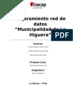 Informe 3 Municipalidad de La Higuera